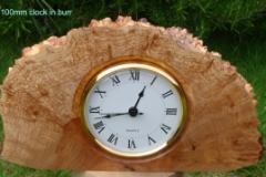 100mm burr clock