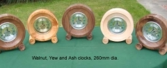 Walnut-Yew-and-Ash-clocks