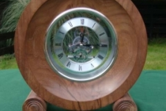 Walnut-clock