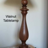 Walnut-tablelamp