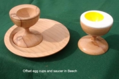 offset egg cups